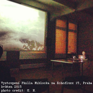 Monika Hanková: Phill Niblock na Echofluxx 15