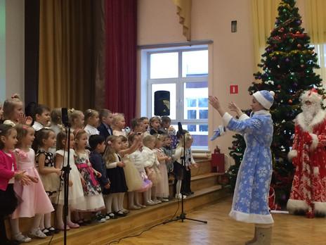 Рождественский концерт дошкольного отделения