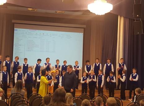 28 октября прошла репетиция сводного хора.