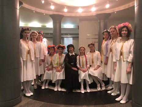 """Концерт школы искусств """"премьера"""" в Музее им. А.С. Пушкина."""
