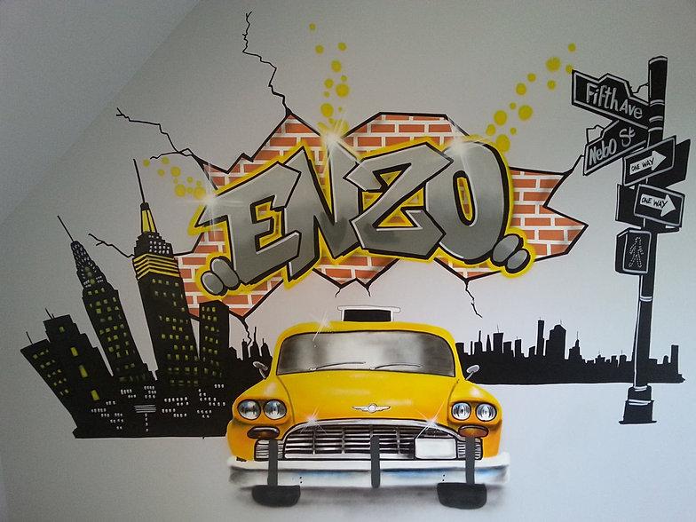 décoration peinture graffiti