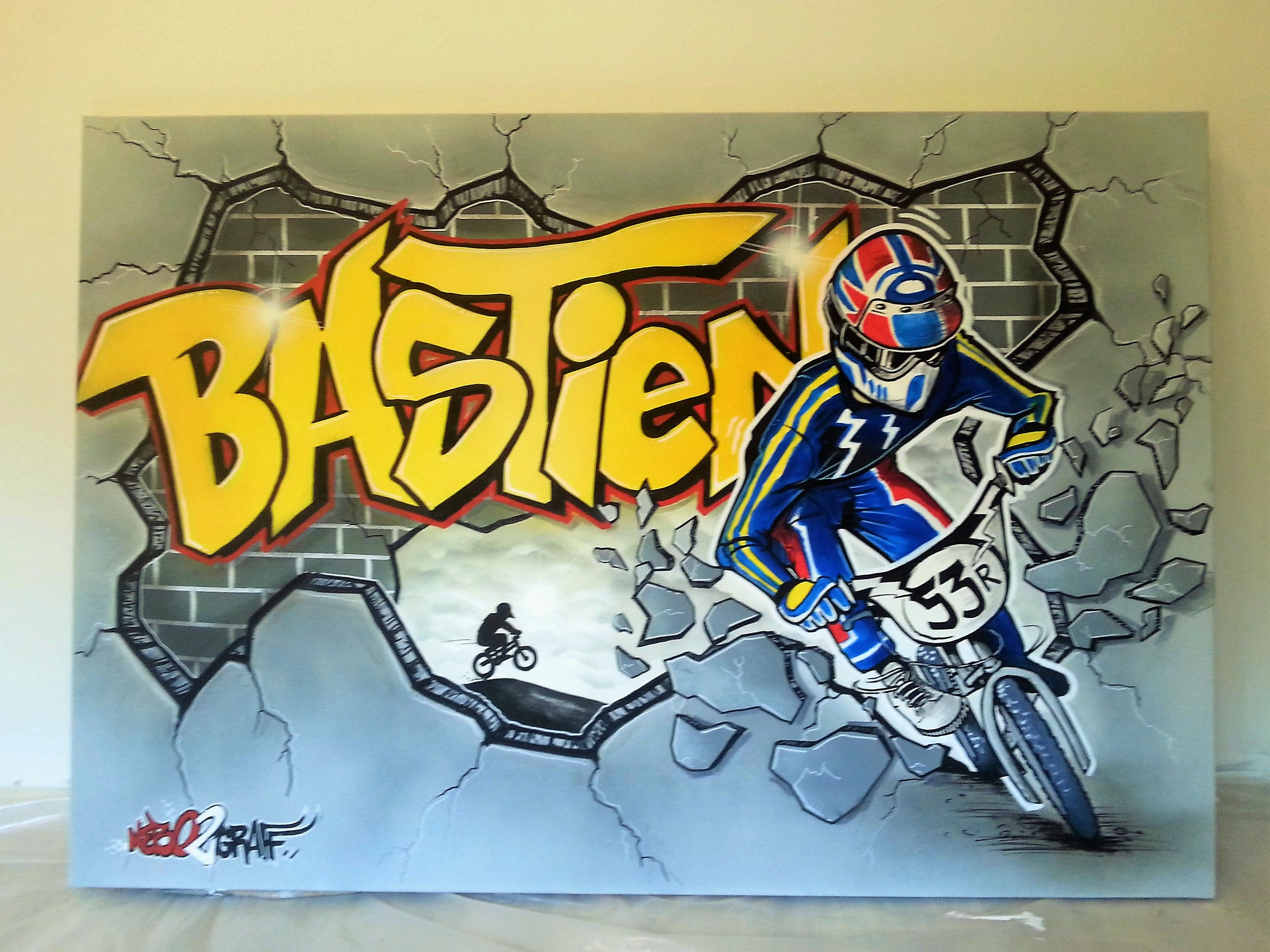 Peinture Tag Pour Chambre nebo2graff décoration murale peinture graffiti art