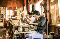 Silver Making - Inle Lake