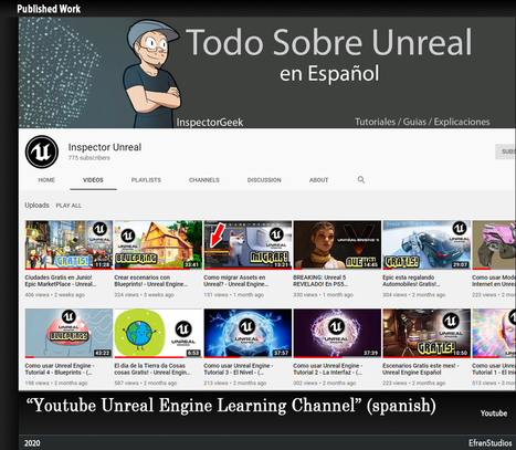 Unreal Engine Youtube Channel