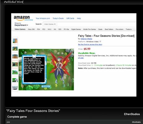 Fairy Tales Four Seasons Stories (Web, PC)