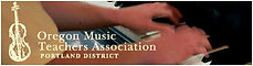 Oregon Music Teachers Association - Portland Disctrict