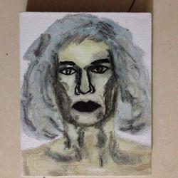 沃霍尔,布面油画,20x25cm