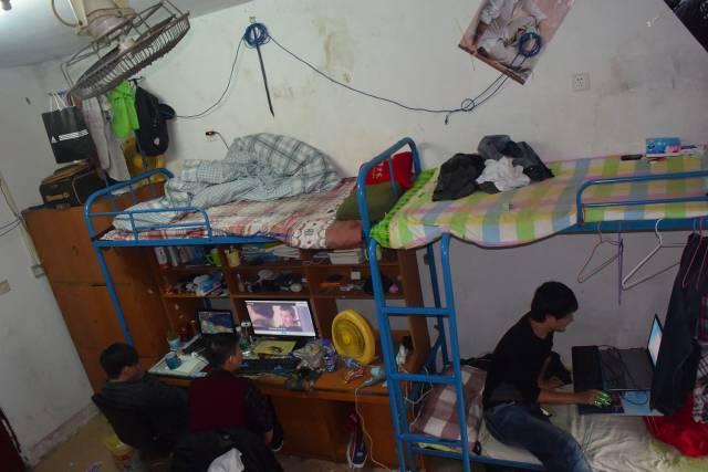詹琦的宿舍