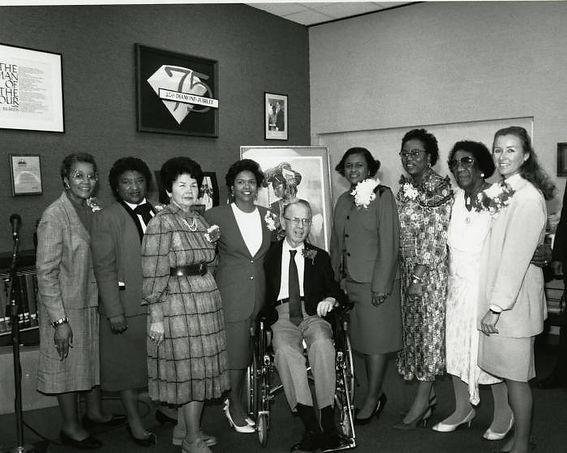 Deltas Pose for Photo _ LA County Library 1989.jpg