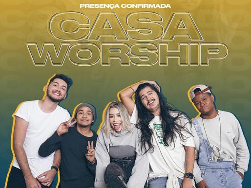Casa Worship se apresentará no show drive-in solidário