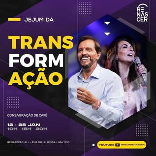 Orações e temas do Jejum da Transformação