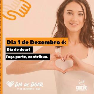 Dia de Doar: Veja como participar da campanha