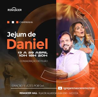 Acompanhe os temas e as orações do Jejum de Daniel