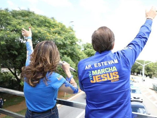 Marcha para Jesus tem carreata solidária e show drive-in