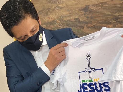 Prefeito de SP fala da importância da Marcha para Jesus