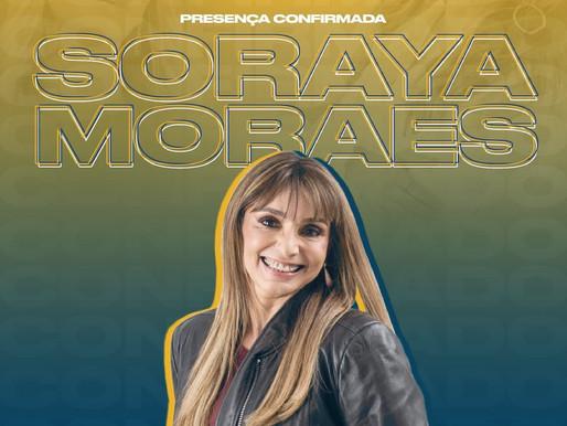Soraya Moraes: Participo da Marcha para Jesus desde os 18 anos