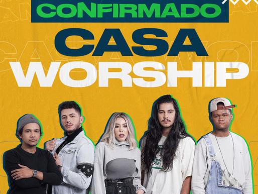 Casa Worship também estará no Esquenta Marcha