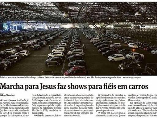 A repercussão da Carreata Marcha para Jesus nos meios de comunicação