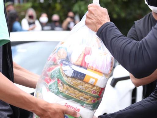 Carreata Marcha para Jesus arrecada mais de 10 mil cestas básicas