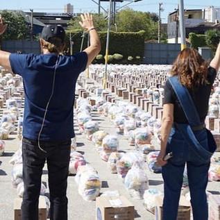Na quarentena, Renascer distribuiu mais de 1200 toneladas de alimentos