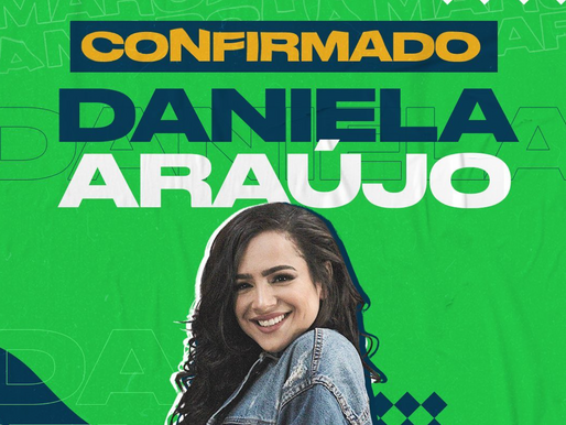 Daniela Araújo: A Marcha para Jesus faz parte da minha vida!