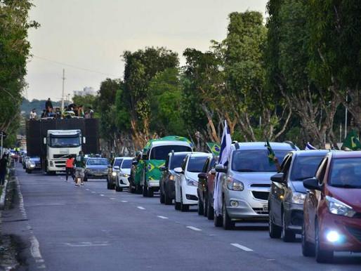 Carreata pró-Marcha acontece em outras cidades brasileiras