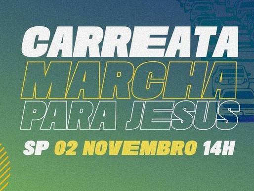 Acompanhe a transmissão ao vivo da Carreata
