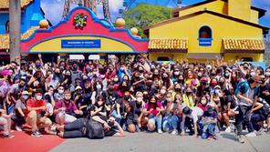 Conexão Teen: Mais de 1200 adolescentes agitam o Hopi Hari