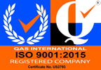 ISO 9001:2015 Registered Company