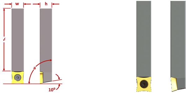 SPUB63 SPUB86 SOMH OD SCARFING INSERT TOOL HOLDER DIMS