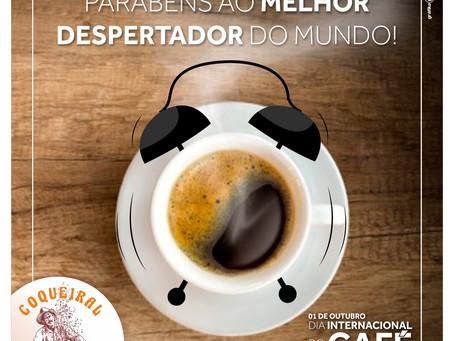 1º de outubro dia Internacional do Café