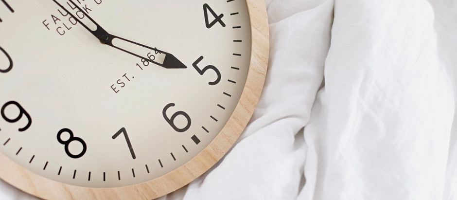 DAYLIGHT SAVINGS TIPS FROM A PRO