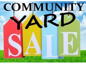 Cuyahoga Falls Community Yard Sale!