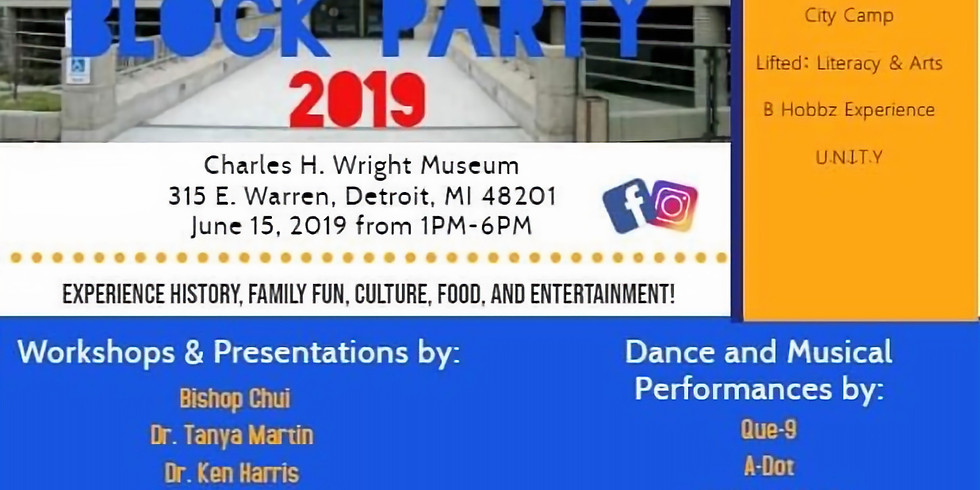 JUNETEENTH JUBILEE BLOCK PARTY 2019!