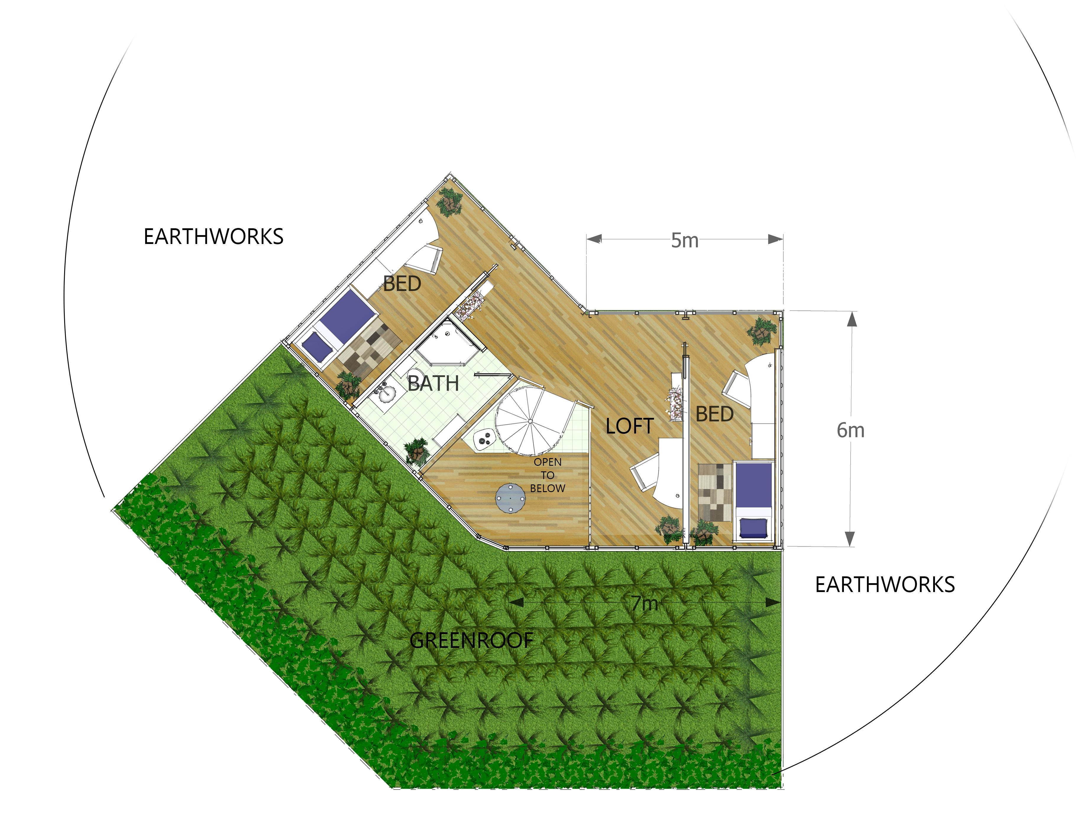 HOUSE 'V'