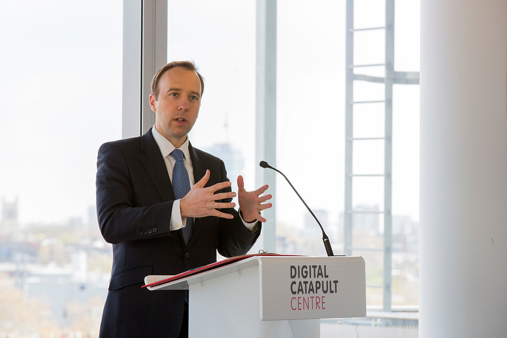 Matt Hancock at an event hosted by GDS in 2016. Picture by: gdsteam/Flickr