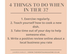 Four things to do when in tier 3