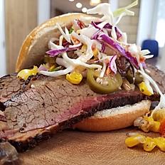 Blue Barn Brisket Sandwich