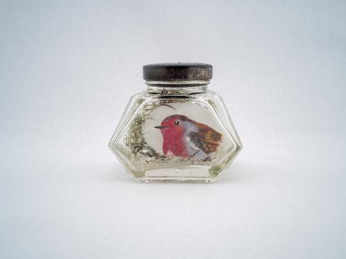 Robin in an Ink Jar