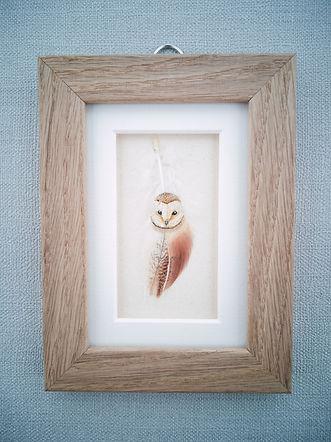 owl for exhibite with frame.jpg