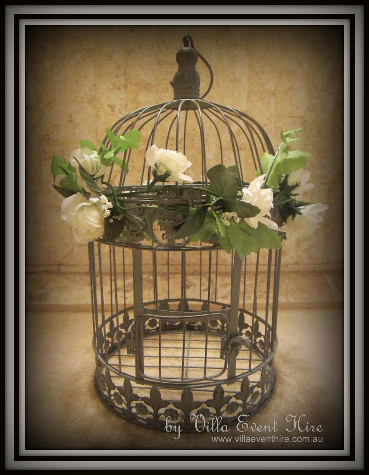 Birdcage Wishing Well Round