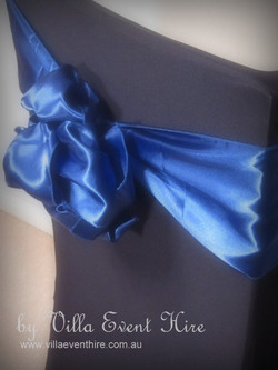 Navey Blue Satin Sash