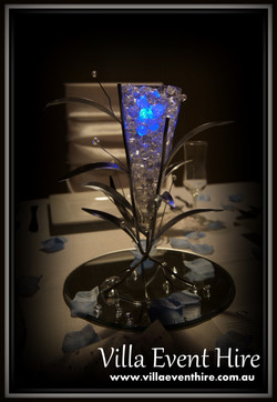Leaf and Vase Centerpiece