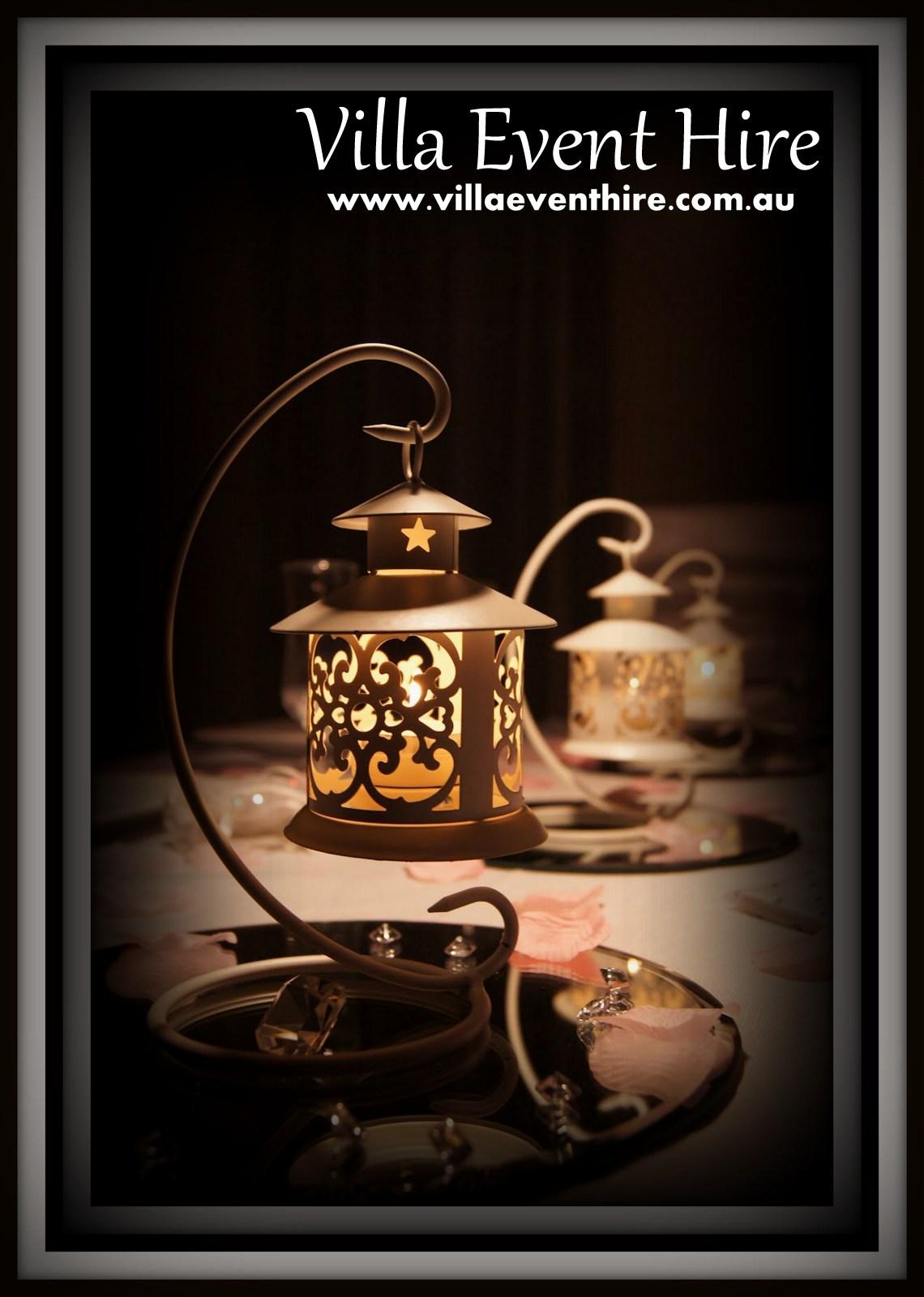 classic french lantern centrepiece