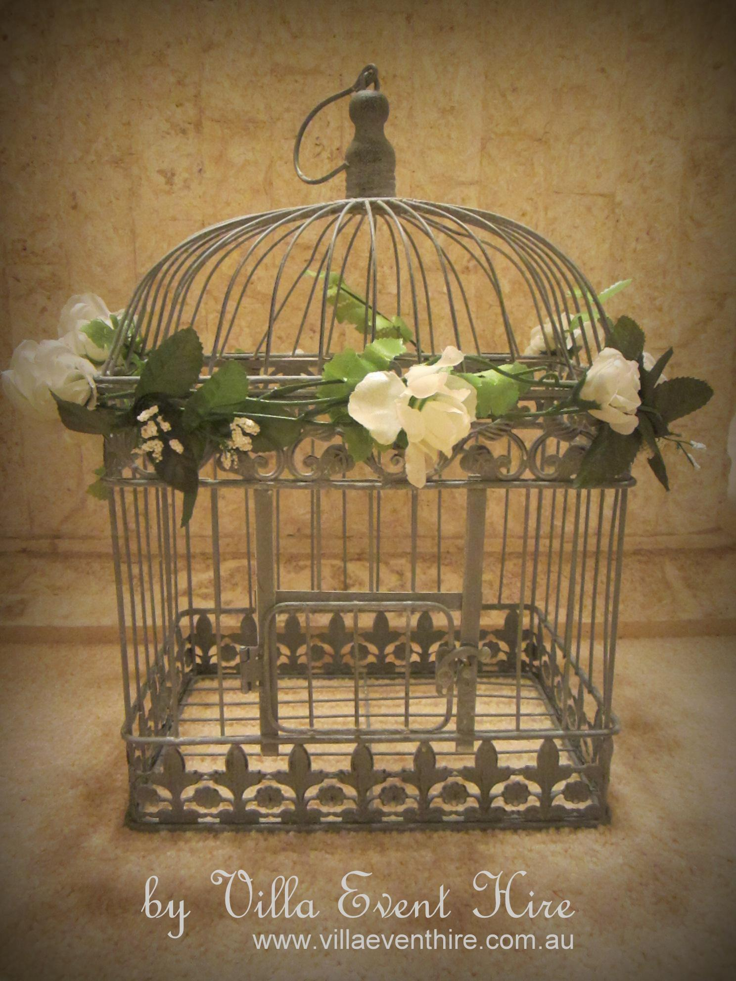 Birdcage Wishing Well Square