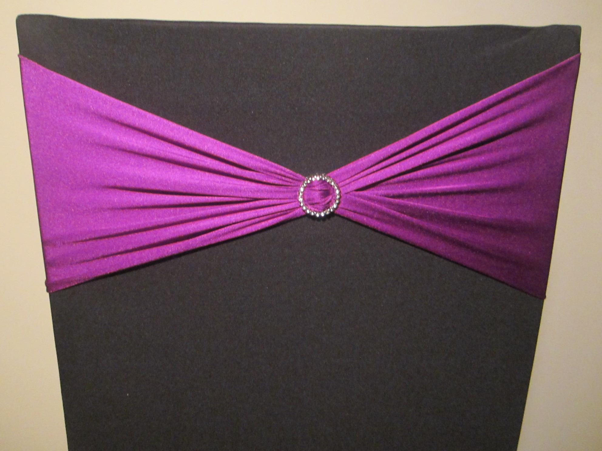 Purple Lycra Band