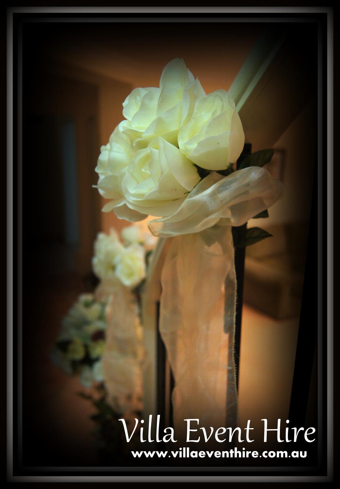 Pew or Stircase Decorations