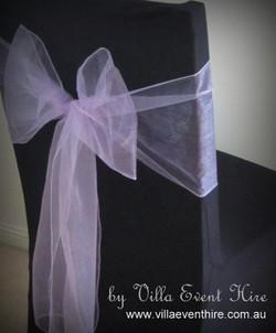 Lilac Organza Sash