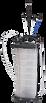 Bomba Manual e Pneumática para retirada de Fluído do Motor