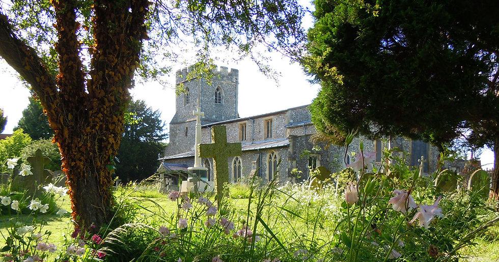 Chalfont St Giles Parish Church in Sprin